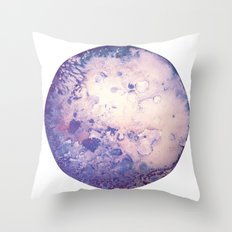Lilac Moon Throw Pillow