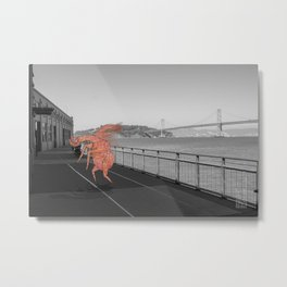 Unseen Monsters of San Francisco - Chazzichad Mowilliams Metal Print