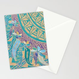 Miss Hawaii Tribal Threads Stationery Cards