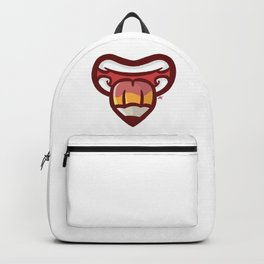 Pencil Mouth Backpack