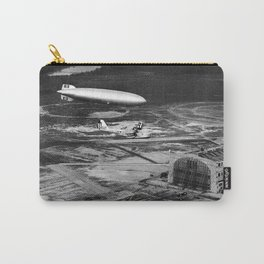 Zeppelin arrival over New Jersey Carry-All Pouch