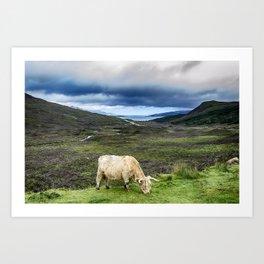 View to Raasay Sound Isle of Skye Art Print