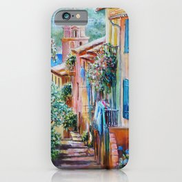 Colors of Collioure, France iPhone Case