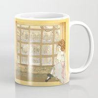 window Mugs featuring Window by CHAR ODEN