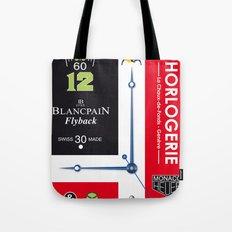 Swiss Geneva Watches Poster Tote Bag