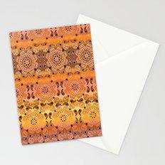 Golden Haze Bandana Stationery Cards