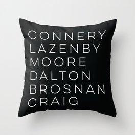 Bond Throw Pillow