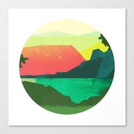 Circlescape Canvas Print