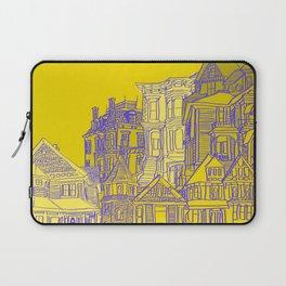 Victorians houses Laptop Sleeve