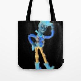 Woody Pixel Poster Tote Bag