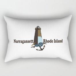 Nantucket Island. Rectangular Pillow