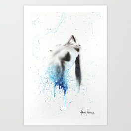 Within Seconds Art Print