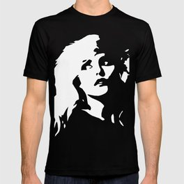 Blondie, Music Legend, Black, White, Cinema, Art, Author, Song Writer, Musician, Punk, T-shirt
