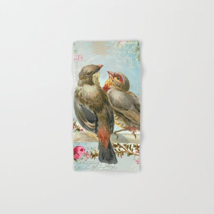 Vintage Birds #2 Hand & Bath Towel