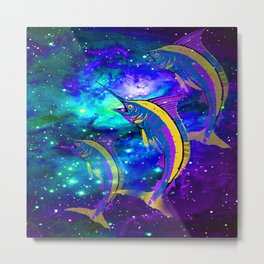 FISH DREAM Metal Print