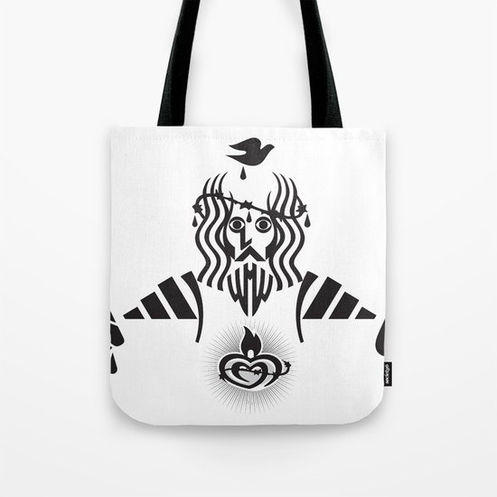 Sacred Heart Tote Bag