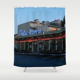Mel's on Geary Street Shower Curtain