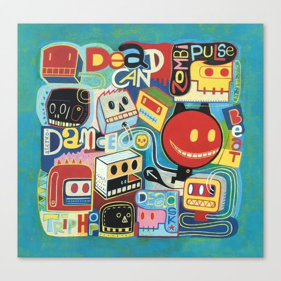 Dead can dance  Canvas Print