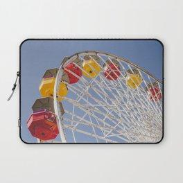 California Wheelin - Santa Monica Pier Laptop Sleeve