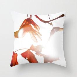 Autumn Sonata III Throw Pillow