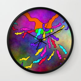 Abstract 33 Wall Clock