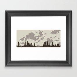 Spewscape Framed Art Print