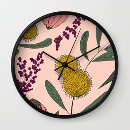 Floating Garden Wall Clock