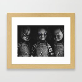 Chucky Framed Art Print