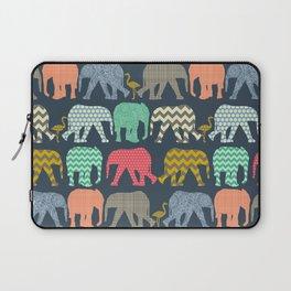 baby elephants and flamingos Laptop Sleeve
