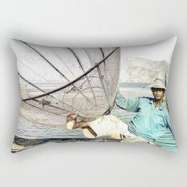 Fisherman Rectangular Pillow