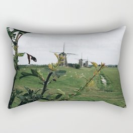 line of windmills Rectangular Pillow