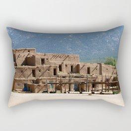 Taos Pueblo Rectangular Pillow