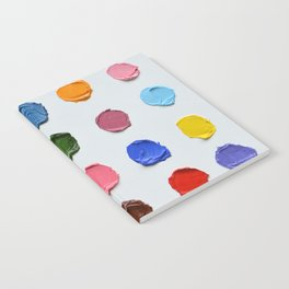 Rainbow Polka Daubs Notebook