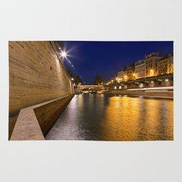 Paris sur Seine Twilight Rug