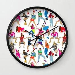 Dance, Dance, Dance! Wall Clock
