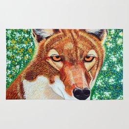 Ethiopian Wolf Rug