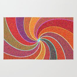 Flower Show Colors Rug