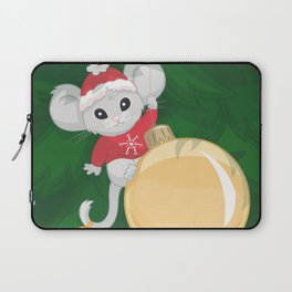 Christmas Mouse Laptop Sleeve