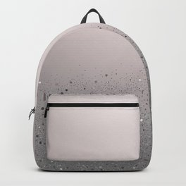 Blush Pink Sparkly Glitter Dust Backpack