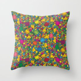 Under the Sea Scatter Throw Pillow