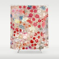 blossom Shower Curtains featuring Blossom by Marta Olga Klara