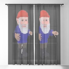 Gnome Sheer Curtain