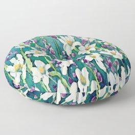 Dancing Daisies Floor Pillow