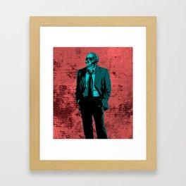 Dressed to Kill Framed Art Print