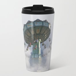 Logic is a systematic method of coming to the wrong conclusion with confidence. Travel Mug