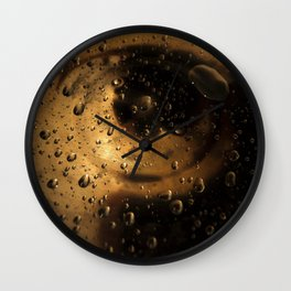 navel of the universe Wall Clock
