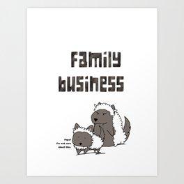 Family Business Art Print