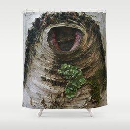 Tree Eye Shower Curtain