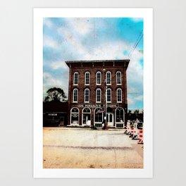 De Haven's Store Art Print