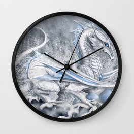 Winter's Promise Wall Clock